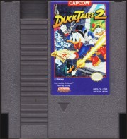 ducktales 2 nes cartridge