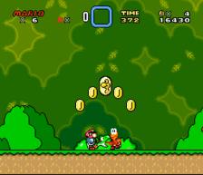super mario world snes screenshot 2